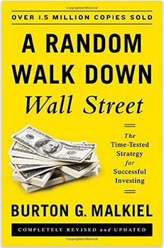Random Walk Down Wall Street by Burton Malkiel Book Cover