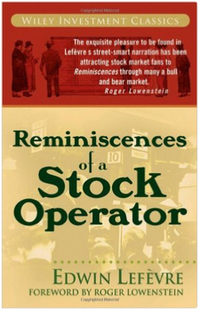 Reminiscences of a Stock Operator by Edwin Lefèvre book cover