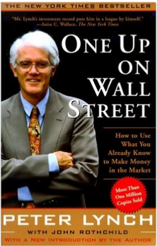One up on Wall Street by Peter Lynch book cover