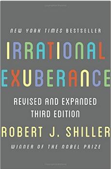 Irrational Exuberance by Robert J. Shiller book cover