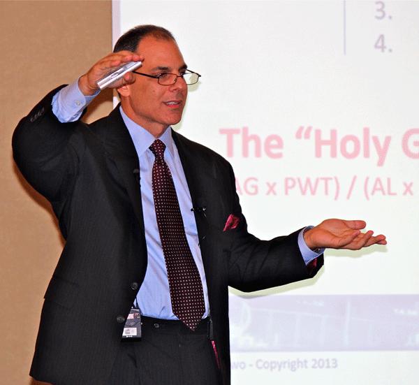 Mark Minervini Speaking about Risk Management at 2013 Workshop