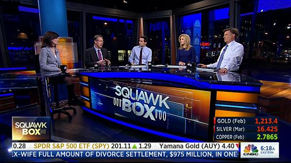 CNBC Squawkbox Television Show Screencap